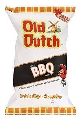 Old Dutch BBQ Chips 4 Bags Canadian