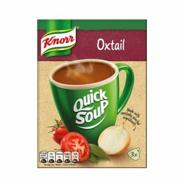 Knorr Quick Soup - Oxtail, x3, 42g