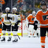 Flyers find 'what playoffs is like,' as winning streak ends