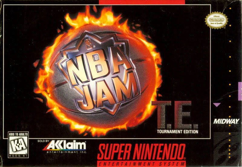 NBA Jam: Tournament Edition - Nintendo Super NES