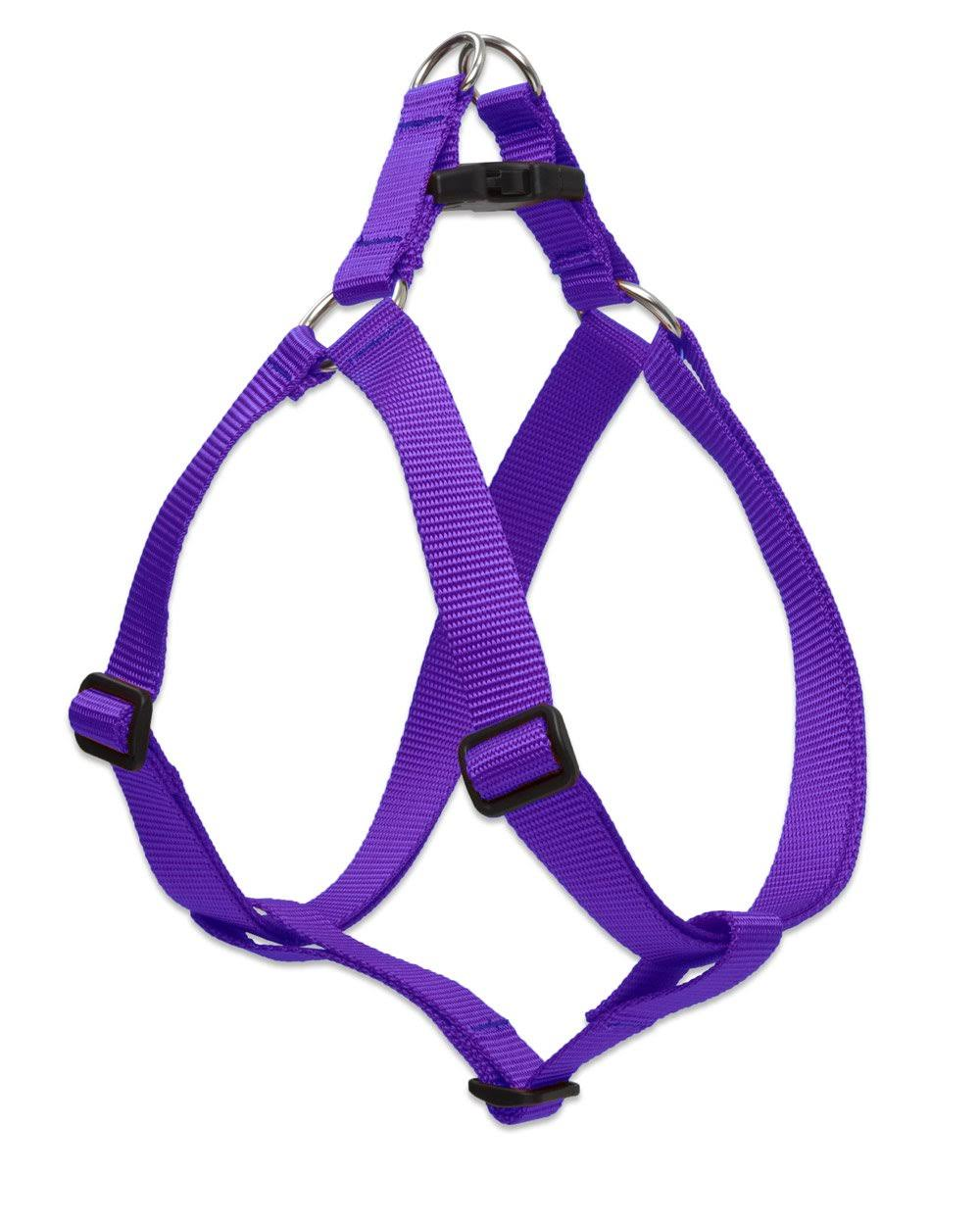 Lupine Nylon Dog Harness Step in Purple 19-28 inch
