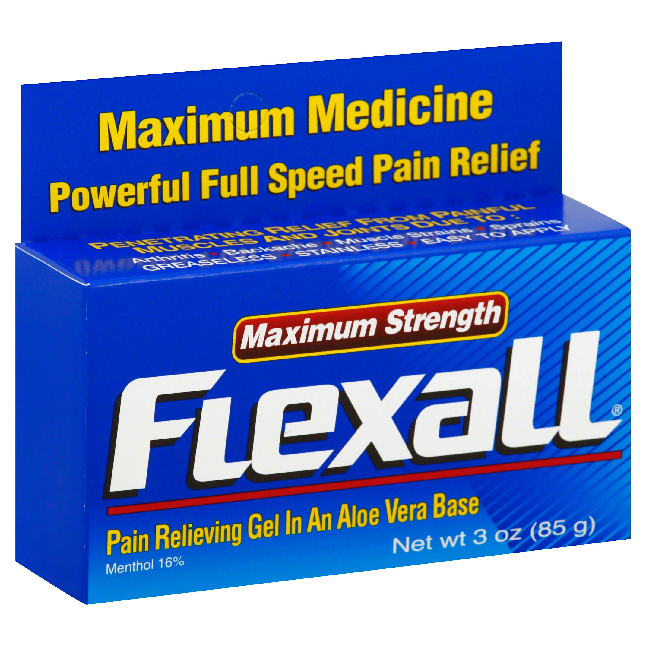 Flexall Gel Maximum Strength Pain Relieving Gel - 85g