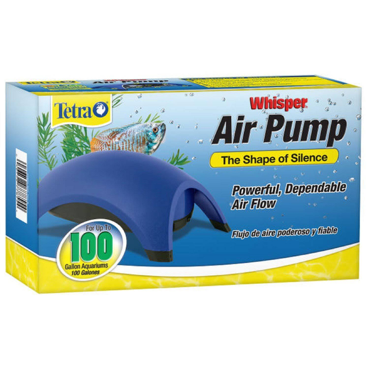 Tetra Whisper Air Pump - 100gal