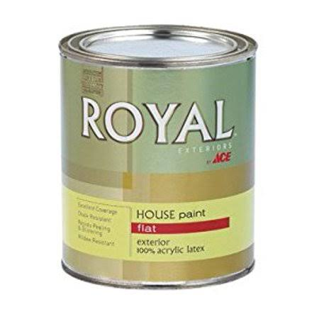 Ace Royal Exterior House Paint - Flat