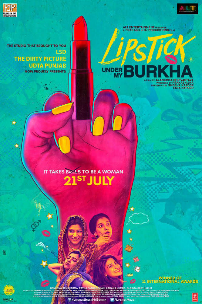 Download Lipstick Under My Burkha (2016) Full Movie in [1080p]