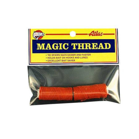 Atlas Mike's Magic Thread - Red, 100', 2pk