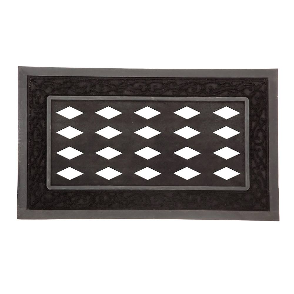 Evergreen Doormat Tray - Black