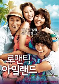 Romantic Island affiche
