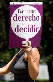 Campaña a favor de la despenalización del aborto
