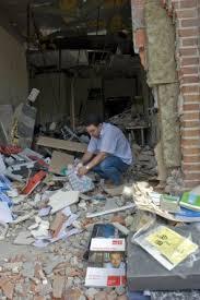 Casa del pueblo de Durango, diversas veces atacada por ETA