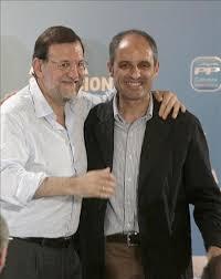 Rajoy apoya a Camps incondicionalmente